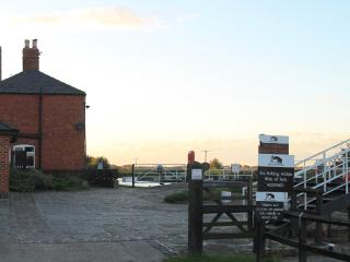 Approaching the Lockhouse