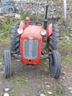 Kirtomy tractor