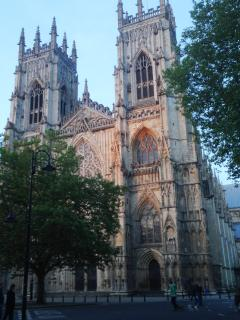 York Minster on 2 minutes away