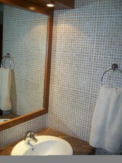 mirror main bathroom