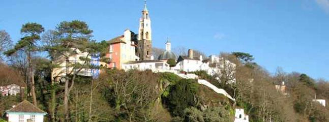 Portmeirion village where the prisoner was filmed