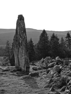 Standing Stone at Gask House Farm