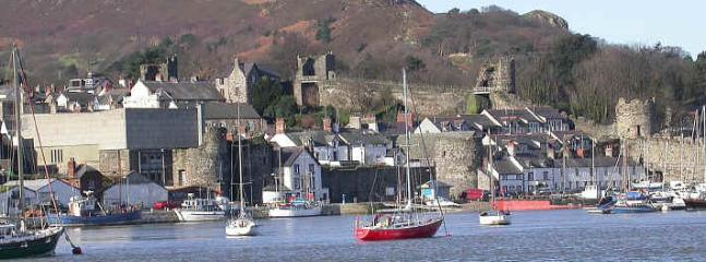 Conwy Quay, a 2 minute walk away