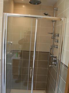 Master Bedroom power shower