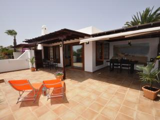The lovely 'Casa Isla' in Playa Blanca.