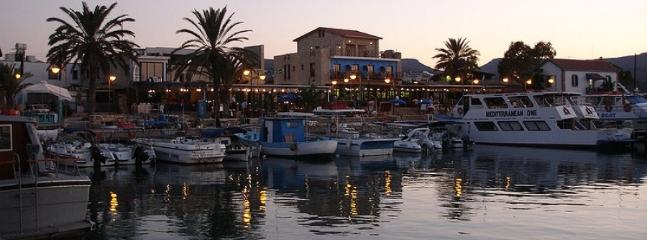 Latchi Marina during the early evening