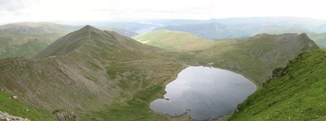 A mountain tarn