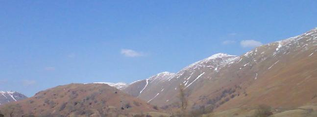 Troutbeck valley in early spring