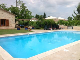 A lovely 12.5 x 5 meter pool for cooling off and relaxing
