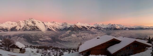 View from Arc-en-Ciel