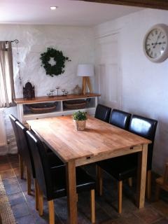The Hay Barn - dining area