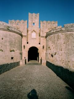 An entrance to Rhodes Old Town