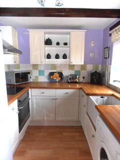 Wayton Barn Cottage Kitchen