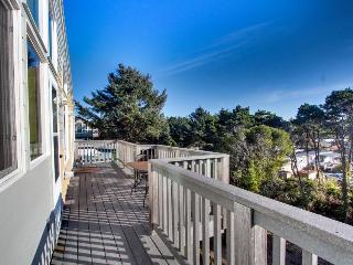 Vibrant and modern home boasts beautiful ocean views & quick beach access!