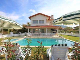 Modern villa with private pool and garden, Dalyan