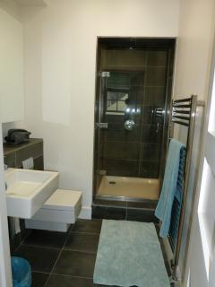 En-suite - very large walk in shower