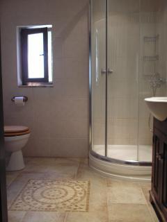 sunny shower room