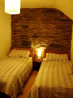 The Twin Bedroom with Orignal Slatework