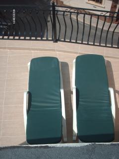 space for sunbathing