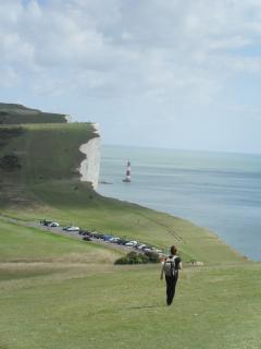 Walking from Birling gap to Beachey Head