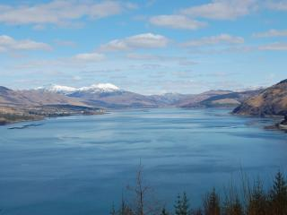 View looking back up Loch Carron, on way to Isle of Skye