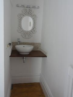 Vanity area in Bedroom 1
