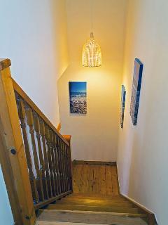 Upper stairway.