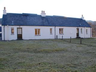 The cosy East Bothy with wood-burning stove & deer, Lochcarron