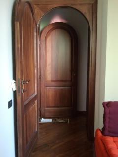 Beautiful wooden door features