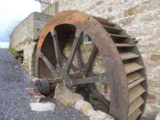 The Newly Restored Water Wheel