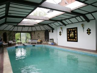 Indoor heated swimming pool available 9am -5pm
