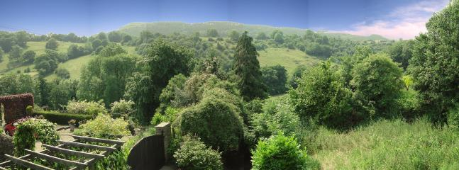 Veiw of the Amber Valley from the rear of the property