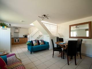 Open plan living downstairs