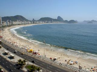 Copacabana, vista da praia , 2 minutos da praia, Rio de Janeiro