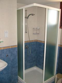 One of our  four ensuite showers/bathroom
