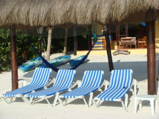 Private beach for Canciones guests.
