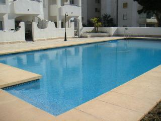 Swimming pool and apartment terrace gate