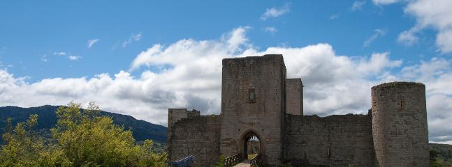 Puivert castle is a short walk away