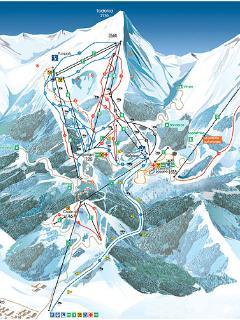 Ski Area Map