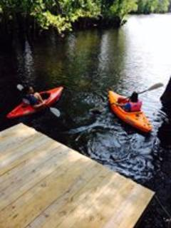 Recent Guest with Kayaks