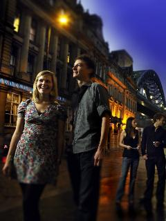 Newcastle nightlife - only 15 minutes drive away
