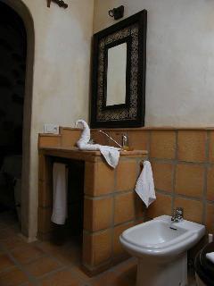 Baño Las Maretas; lavabo