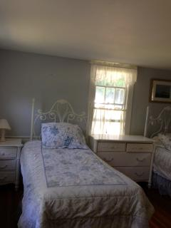 'Blue Bedroom 'with twin beds