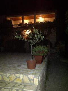 Villa Grace by night