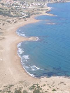 Beaches in Esentepe found along the main coast road.....