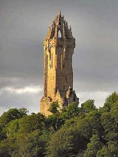 Wallace Monument - two minutes drive from holiday let