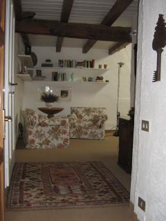 Entrance to 4th bedroom lounge on the 2nd floor with en-suite bathroom, ample storage space.