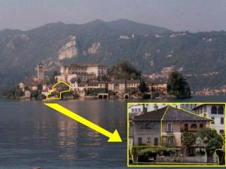 Exclusive Villa on San Giulio Island, Lake Orta, Piamonte