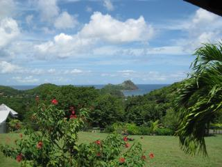 View of Pigeon Island from villa