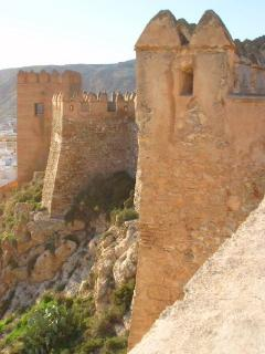 The Alcazabar of Almeria is a beautiful Moorish castle with panoramic views over the  city.